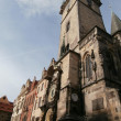 Sights of Prague - Prague astronomical clock, Czech Republic (2013-10-21) — Stock Photo