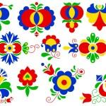 Moravian folk ornaments — Stock Vector #40858959