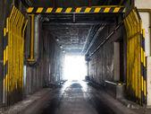 Industrial underpass — Stock Photo