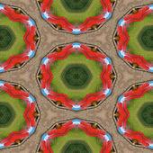 Kaleidoscopic playground seamless generated texture — Stock fotografie