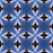 Kalejdoskopie burza bezszwowe generowane tekstury — Zdjęcie stockowe
