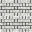 White glazed tiles seamless generated hires texture — Stock Photo #50819595
