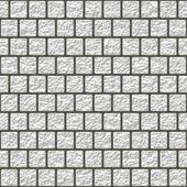 White glazed tiles seamless generated hires texture — Stock Photo