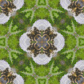 Glass mosaic seamless generated hires texture — Stockfoto
