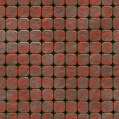 Pavement abstract seamless generated hires texture — Stock Photo