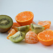 Orange, mandarin, kivi — Stock Photo #41258419