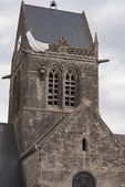St. Mere Eglise, Normandy, France — Stock Photo