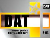 Dat cassette concept — Stock fotografie