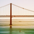 Bridge in Lisbon — Stock Photo