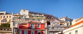 Differents buildings in Alfama — Stock Photo