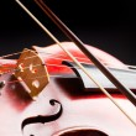 Vintage violin detail. Macro. — Stock Photo #42113509