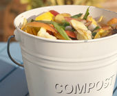 Compost bin — Stock Photo