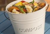 Detail of Compost Bucket — Stock Photo