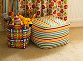 Basket of Plush Animal Toys — Stock Photo