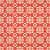 Floral Seamless Background Pattern — Stok Vektör