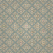 花のシームレスな背景パターン — ストックベクタ