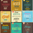 Vintage Typographic Backgrounds — 图库矢量图片 #35409291