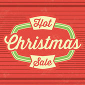 Christmas Sale Template — Stock Vector