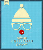 Hristmas greeting card — Vettoriale Stock