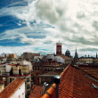 Europe Roofs & Sky — Stock Photo