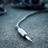 Studio audio or instrument cable — Stock Photo