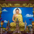 Buddha Chinese shrine to worship God — Stock Photo #35576993