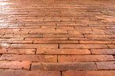 Vägg brick bakgrunder — Stockfoto