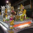 Fancy car in Thai carnival — Stock Photo