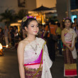 Thai fancy girl in carnival — Stock Photo