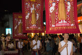 Flang in thai carnival — Stock Photo