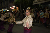 Thai dance in carnival — Stock Photo