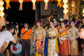 Thai old style fancy in carnival — Stock Photo