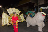 Thai old culture in carnival — Stock Photo
