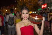 Thai woman fancy — Stock Photo