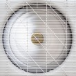 Spinning fan of air-compressor — Foto de Stock