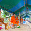 CHAIYAPHUM,THAILAND May 15 : Unidentified thai Chaiyaphum monks  — Stock Photo