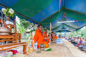 CHAIYAPHUM,THAILAND May 15 : Unidentified thai Chaiyaphum monks — Stockfoto