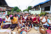 CHAIYAPHUM,THAILAND May 15 : Unidentified the buddhists pray to — Stock Photo