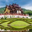 Stock Photo: Traditional thai architecture in Lannstyle , Royal Pavilio