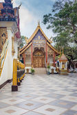 Buddhist Temple of Wat Phrathat Doi Suthep in Chiang Mai, Thaila — Stock Photo