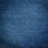 Textur der blue jeans textil hautnah — Stockfoto