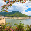 Hydro Power Electric Dam in Tak,Thailand. — Stock Photo