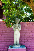 Ancient thailand statue on garden in chiang mai,thailand — Stock Photo