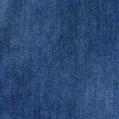 Blue jeans textile close up — Stock Photo