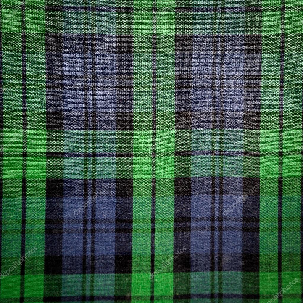 Plaid Background Green Green Blue Plaid Background