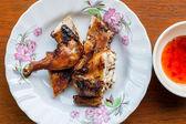 Rostad kyckling — Stockfoto