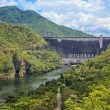 Stock Photo: Hydro Power Electric Dam in Tak,Thailand.