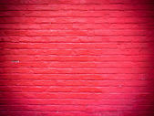 Old red brick wall texture and background — Stock Photo