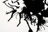 Leichte schwarze Aquarell abstrakt — Photo