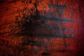 Grunge red iron rust background and texture — Stock fotografie